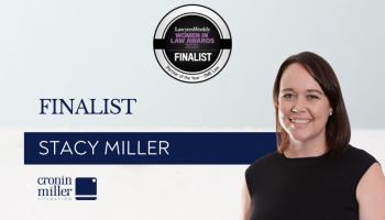 Stacy Miller is a finalist in the Lawyers Weekly Women in Law Awards 2020