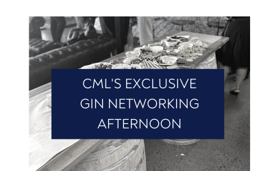 CML's Exclusive Gin Networking Afternoon