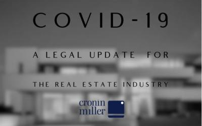 COVID-19 – A legal update for the Real Estate Industry